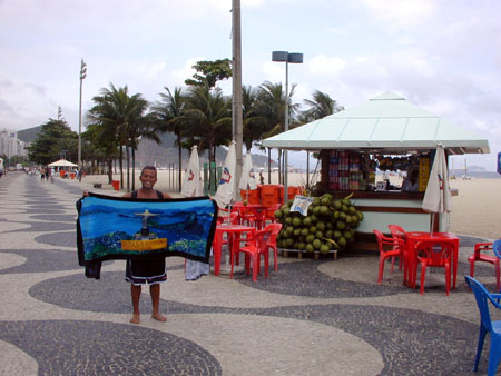 14coconut stall on copacabana beach 3-12-02