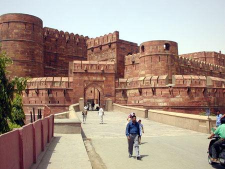 The Red Fort At Agra